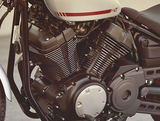 Yamaha Bolt R-Spec engine