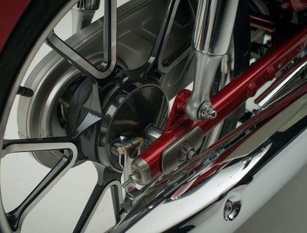 Honda C125 Super Cub rear wheel