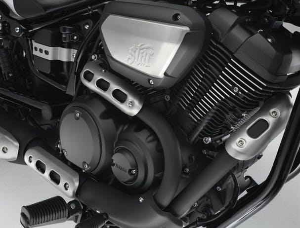 Yamaha Bolt R-Spec exhaust