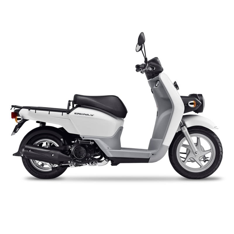 Honda MW110 Benly in pearl white colour
